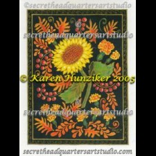 Sunflowers With Marigolds